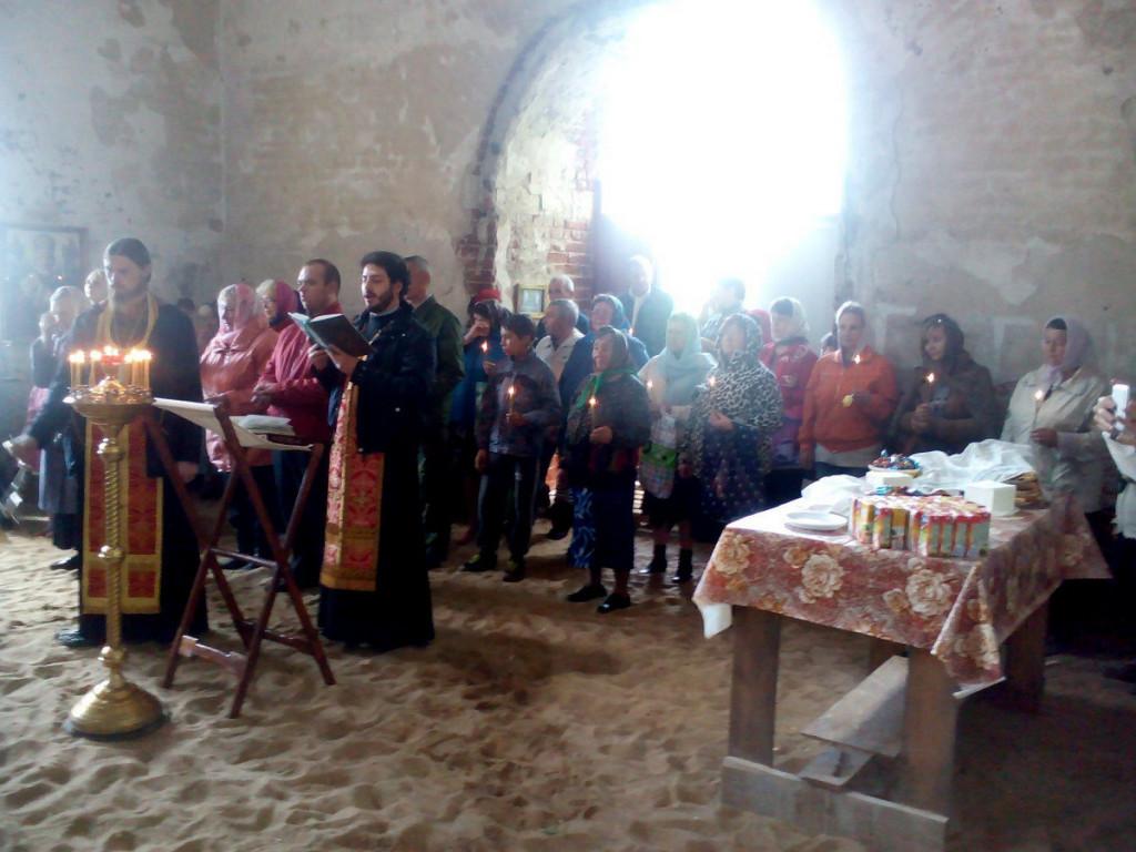 Престольный праздник в селе Дарищи
