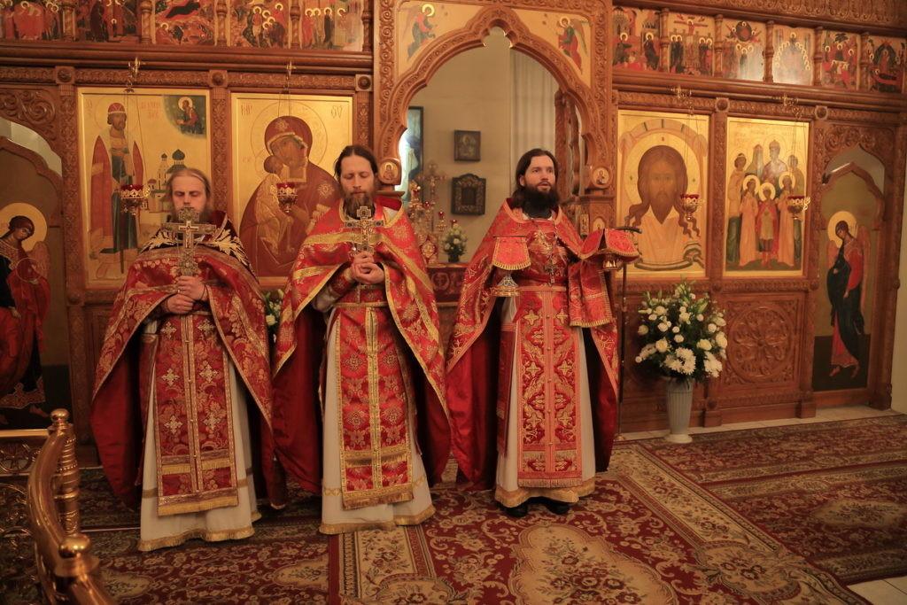 Пасха в Богородице Рождественском Бобреневском мужском монастыре