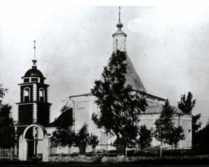 Церковь Ильии Пророка в с. Пруссы