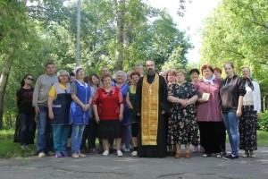 Посещение детского лагеря «Орленок» в селе Акатьево