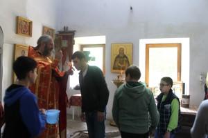 Открытие православного лагеря
