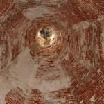 Церковь Илии Пророка в селе Пруссы (Коломенский район Московской области). Внутренний вид шатра. Период: 16 мая 2009 года