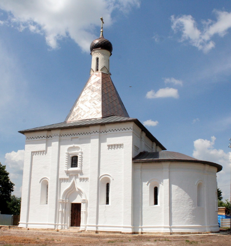Реставрация Ильинского храма села Пруссы