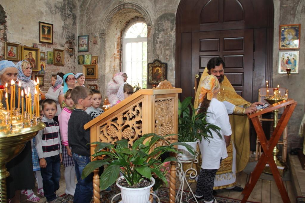 Посещение Казанского храма