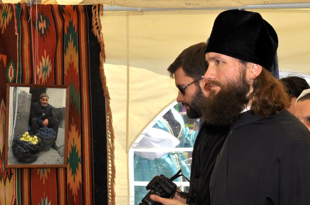Игумен Петр (Дмитриев) на Православном фестивале в Рожново