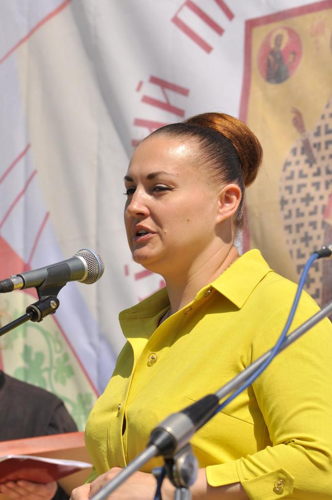 Елена Олеговна Серова на Православном фестивале в Рожново