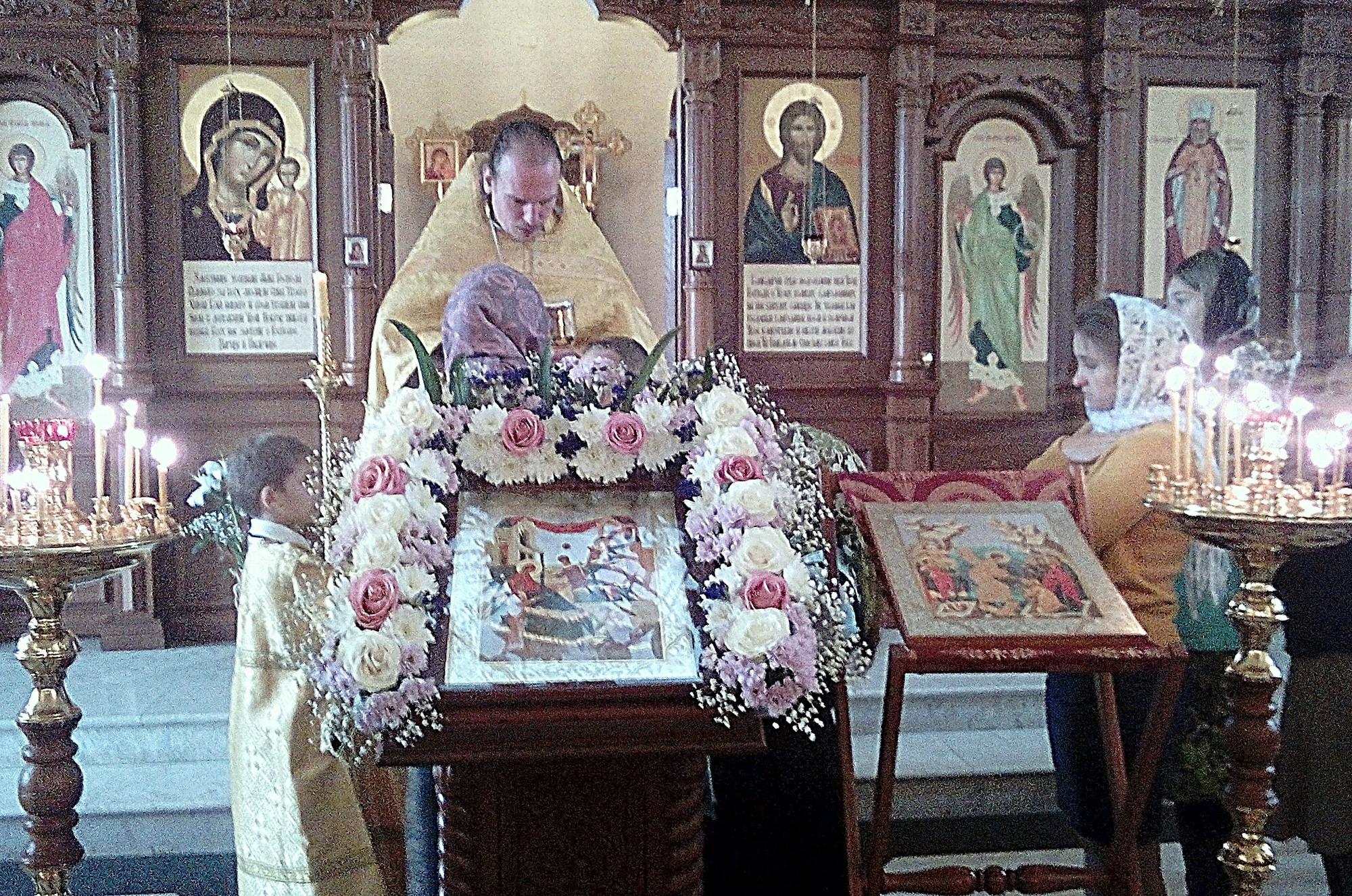 Праздник в приходе Казанского храма