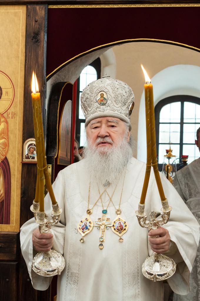 Освящение Ильинского храма