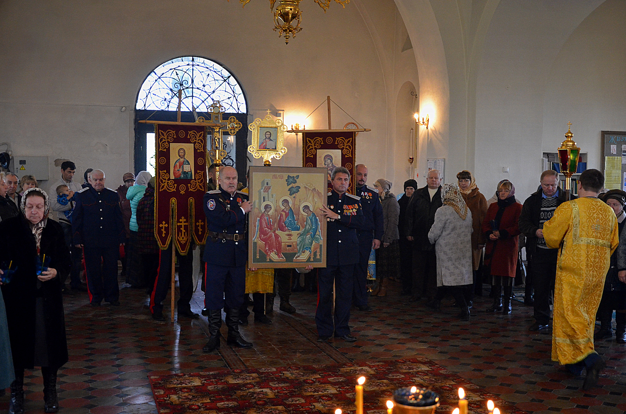 Престольный праздник в Покровском храме села Никульское