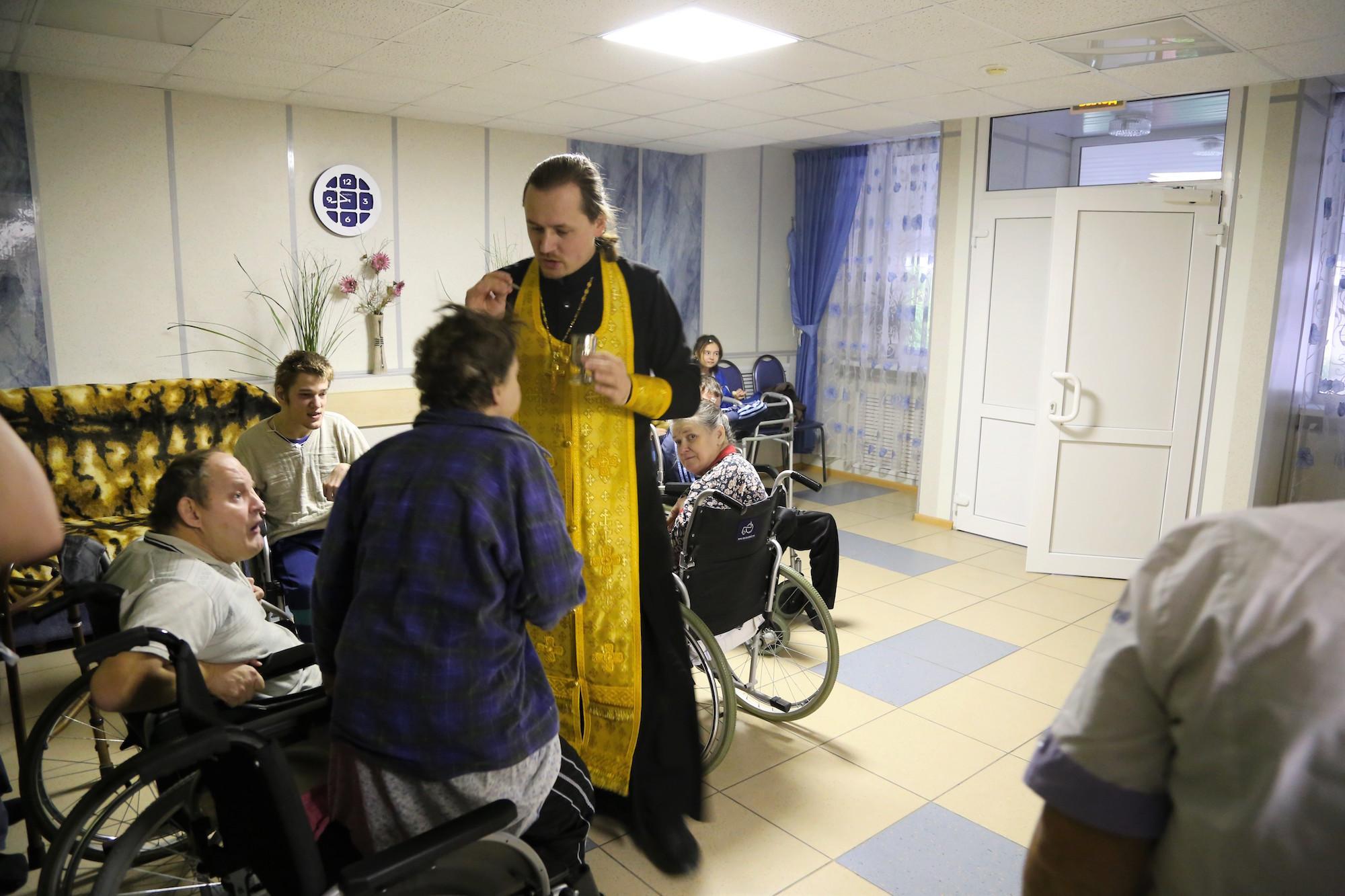 Посещение Черкизовского психоневрологического интерната