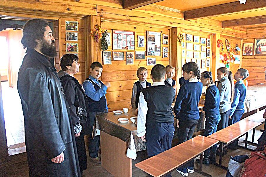 Посещение школьниками Казанского храма