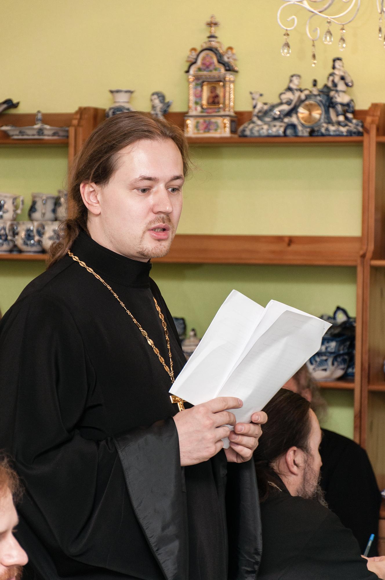 Собрание духовенства Коломенского района
