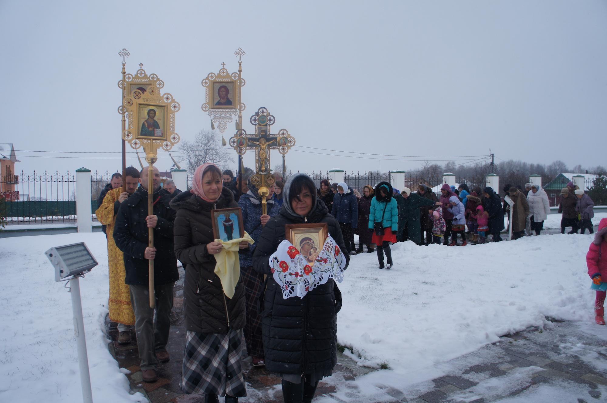 Престольный праздник Казанского храма деревни Богдановка