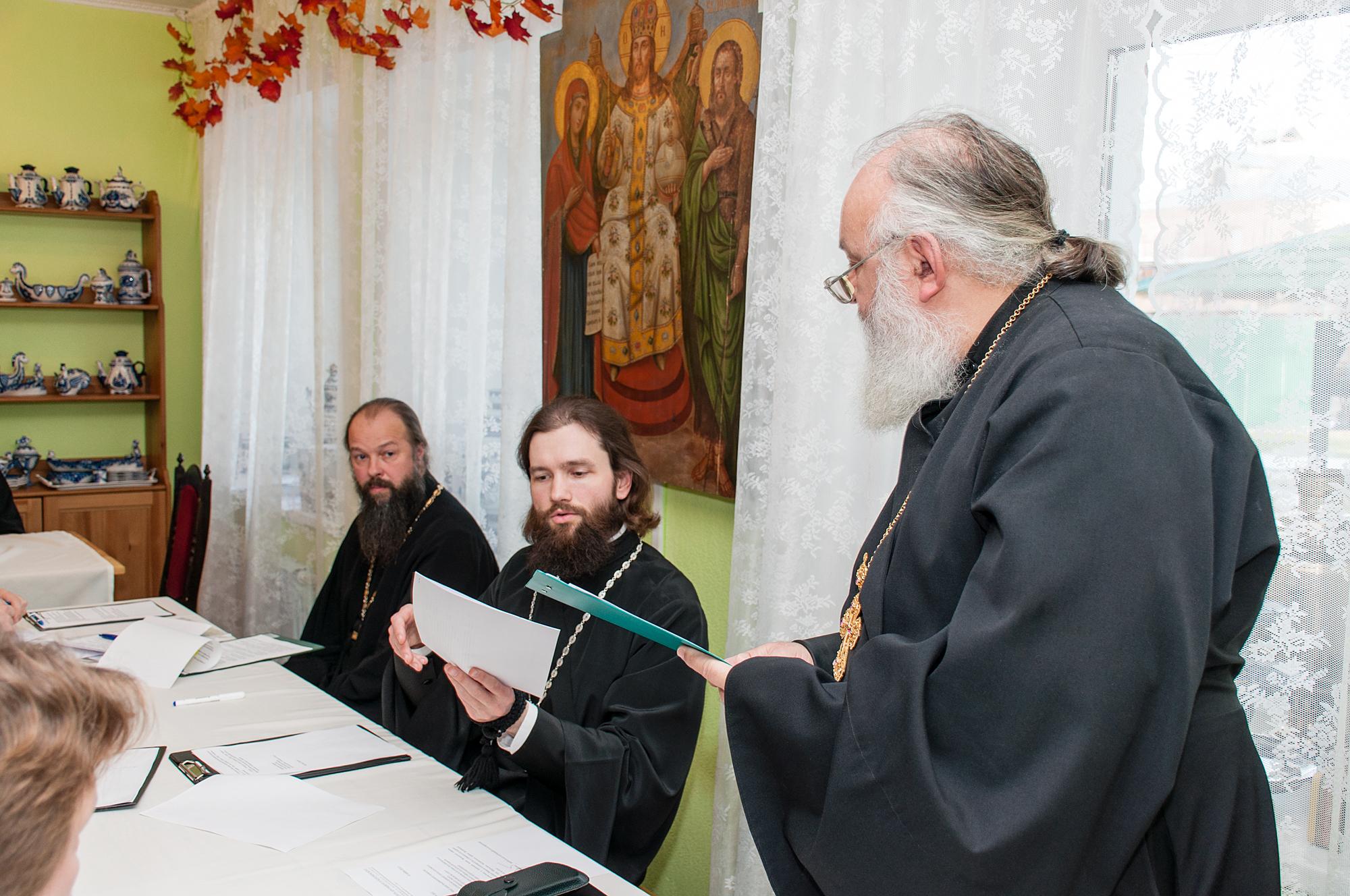 Собрание духовенства Коломенского благочиния
