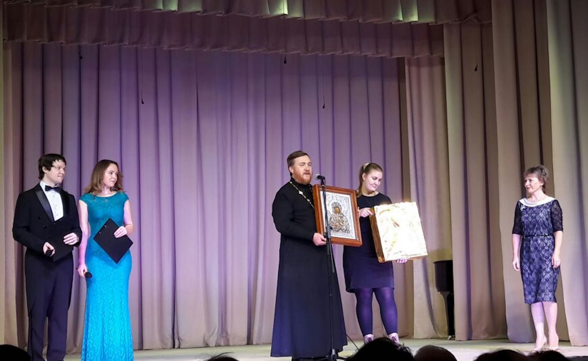 Открытие школы искусств