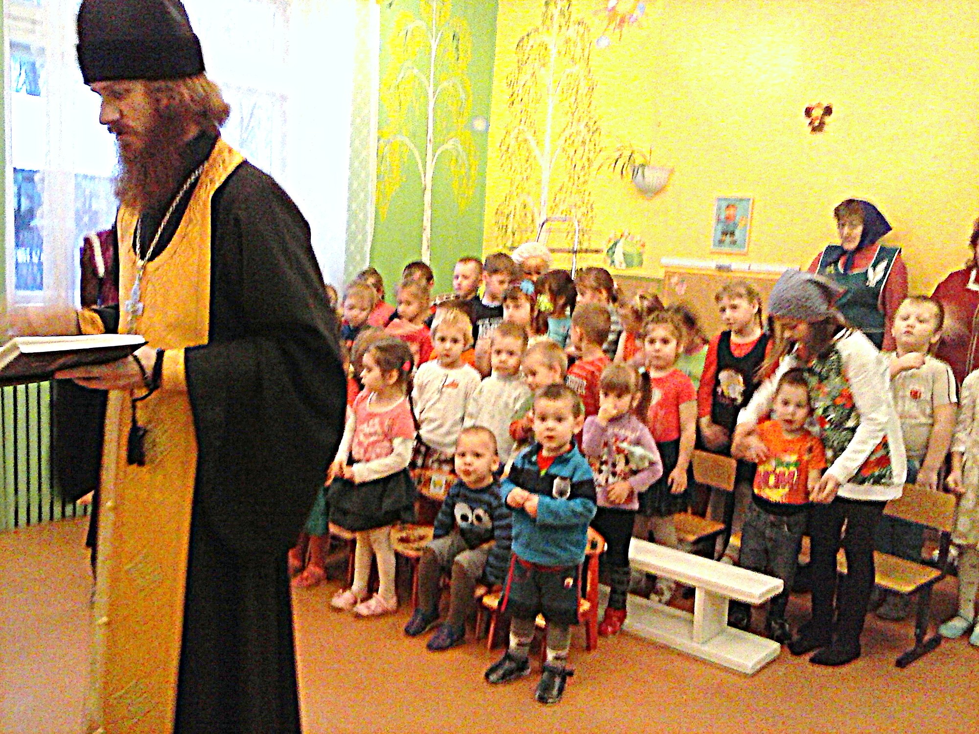 Посещение детского сада «Зернышки» поселка Индустрия