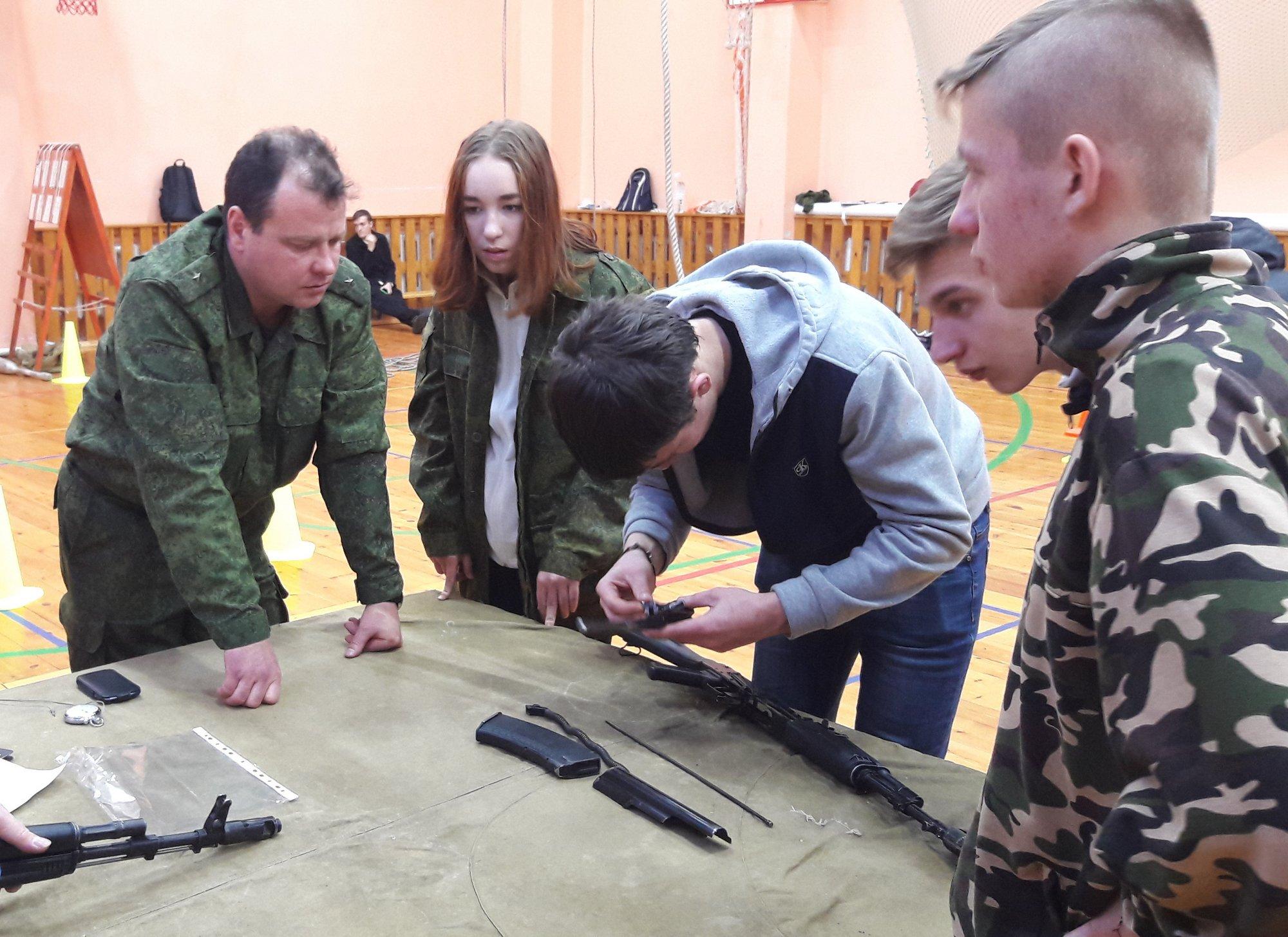 Военно-спортивная игра на Кубок имени святого Димитрия Донского