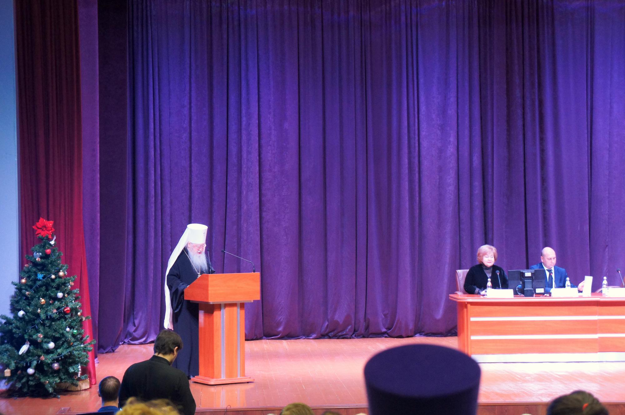Участие в форуме «Православие и медицина»