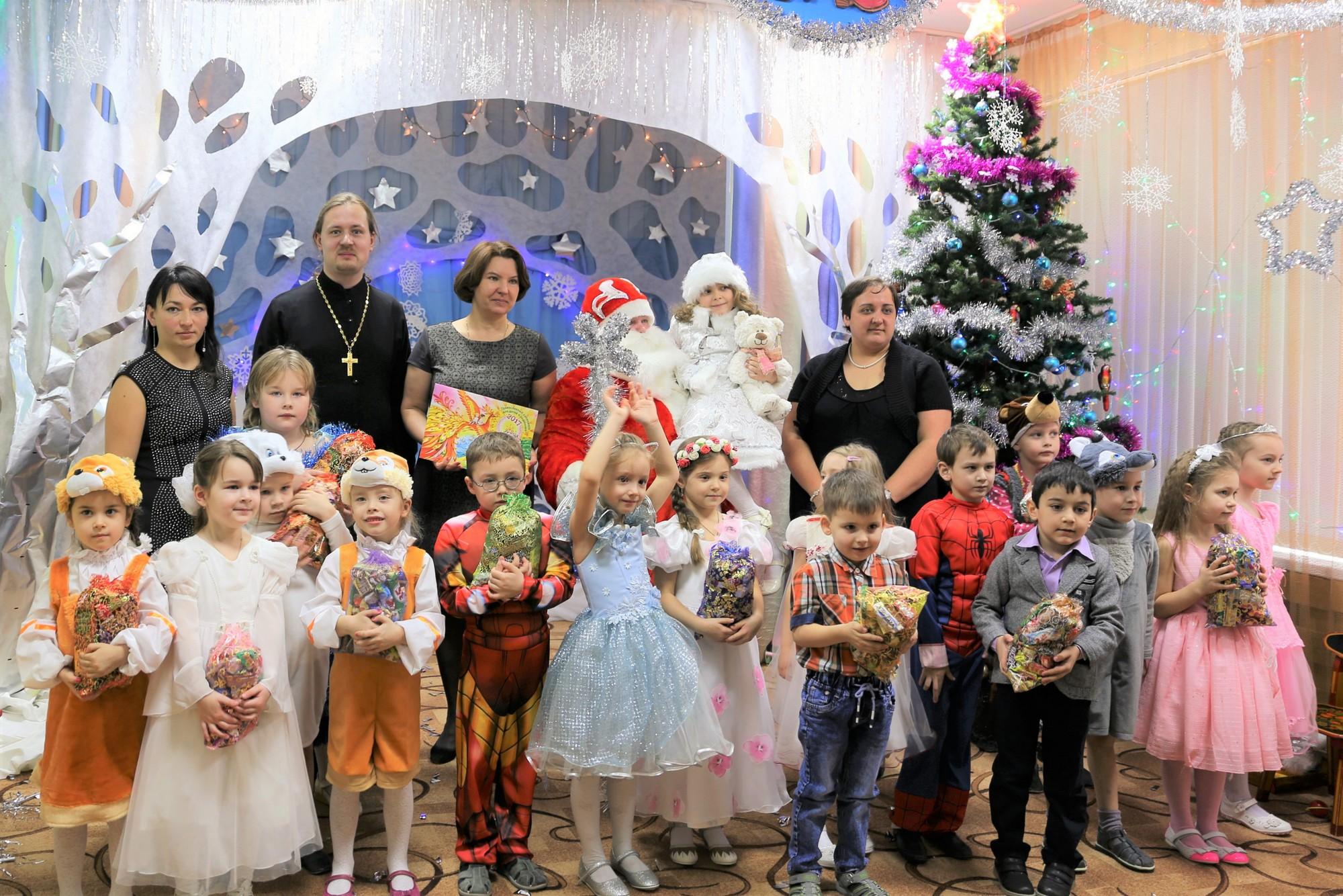 Новогодний праздник в детском саду № 9 «Дружба» села Черкизово