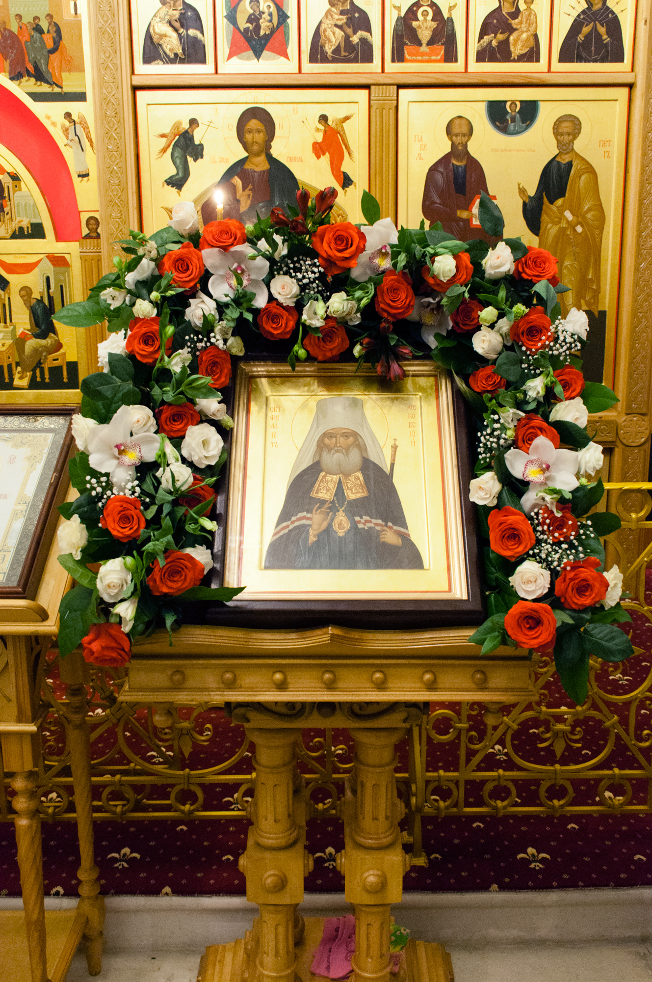 Освящение Петропавловского храма в Коломне
