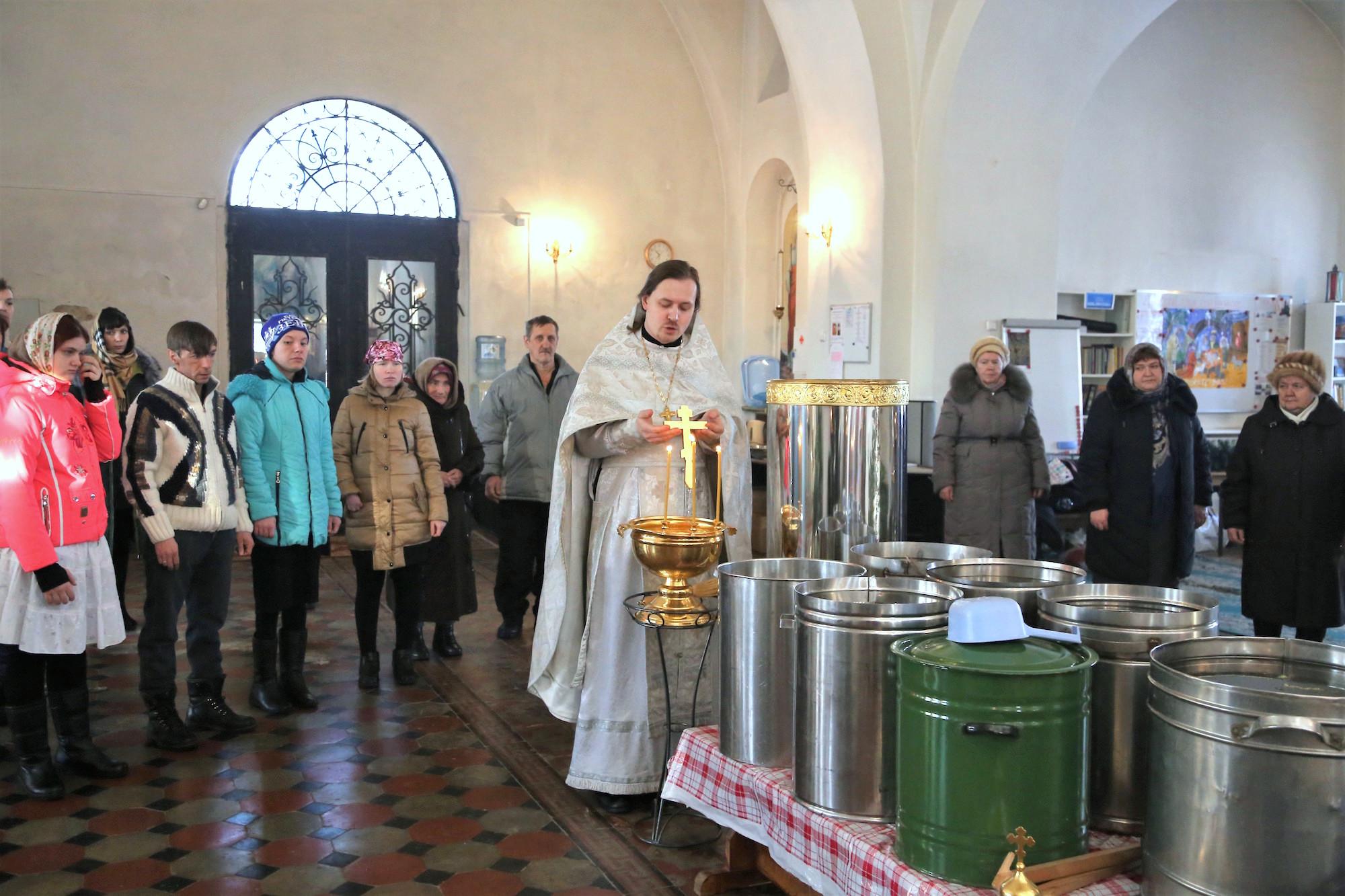 Богоявление Господне на приходе Покровского храма села Никульское