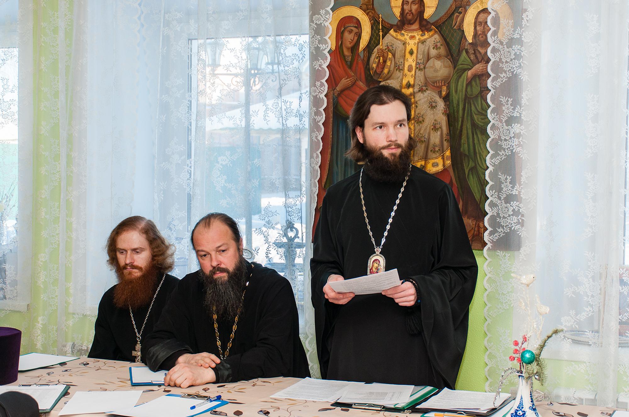 Собрание духовенства Коломенского благочиния - Коломенское благочиние