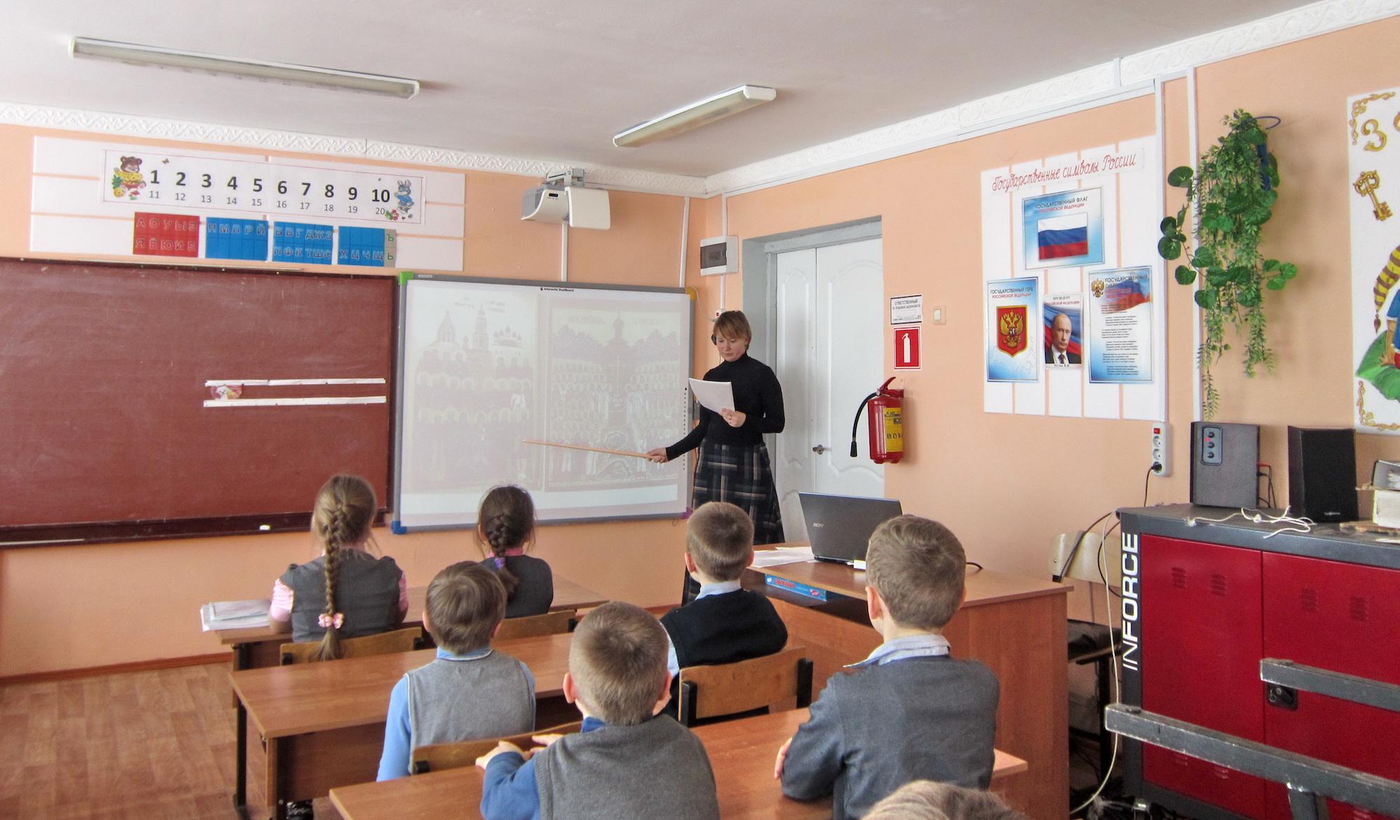 Уроки о новомучениках в Маливской средней школе