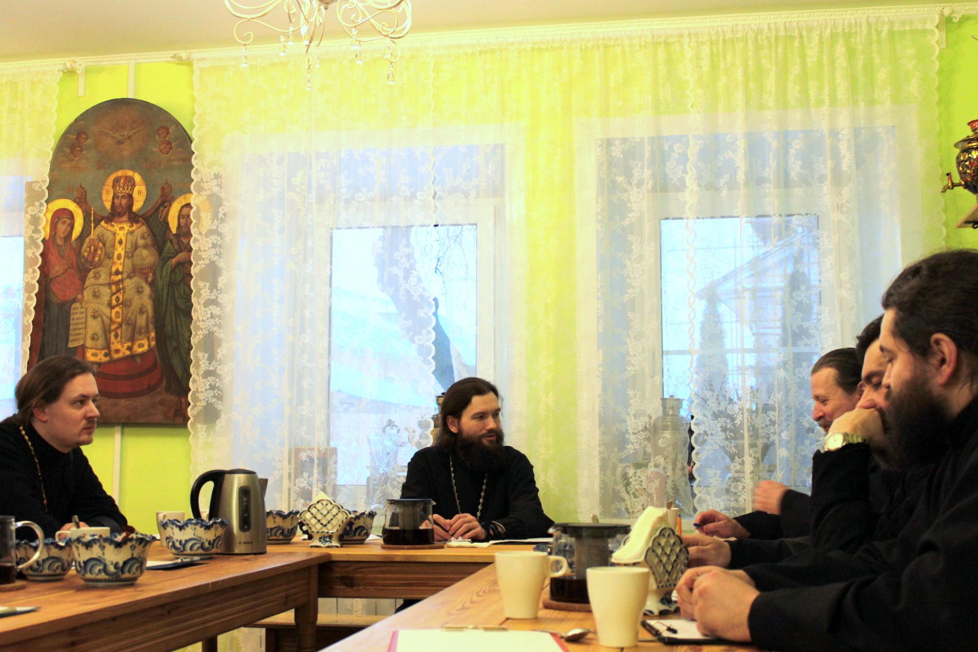 Собрание ответственных по направлениям церковного служения в Коломенском благочинии