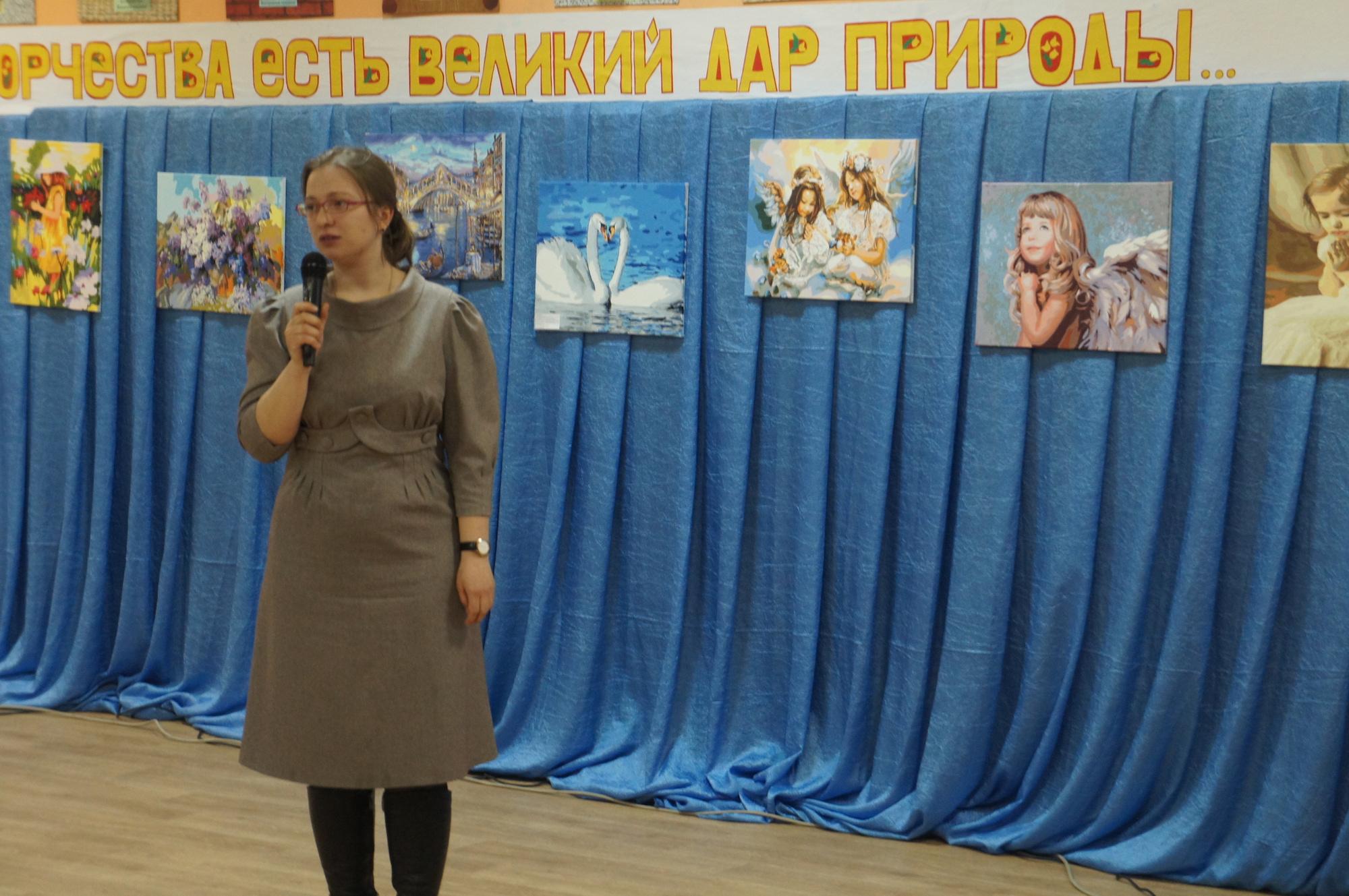 Музыкально-литературный вечер в доме культуры села Акатьево
