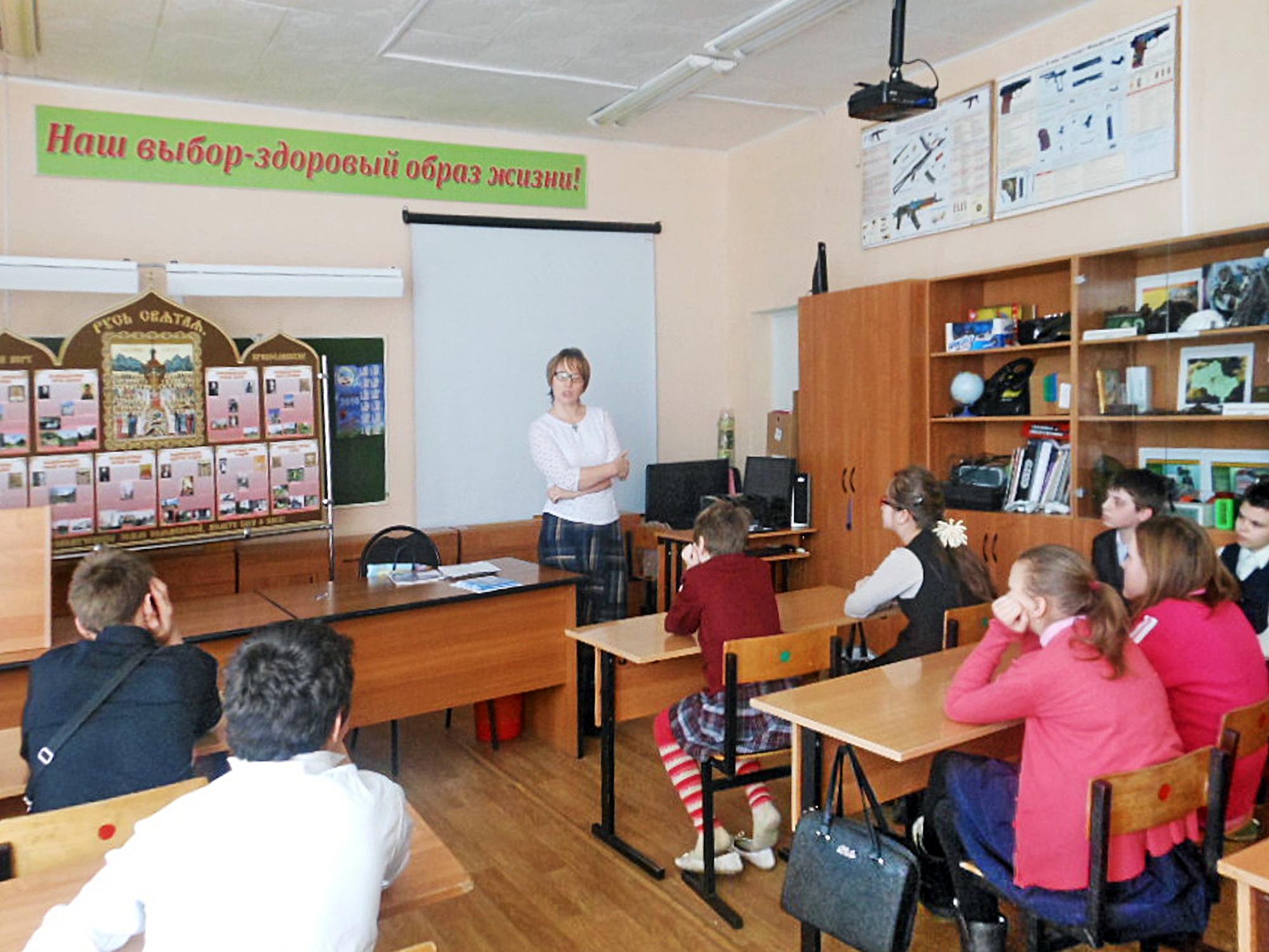 Урок о новомучениках в Коробчеевской школе-интернате