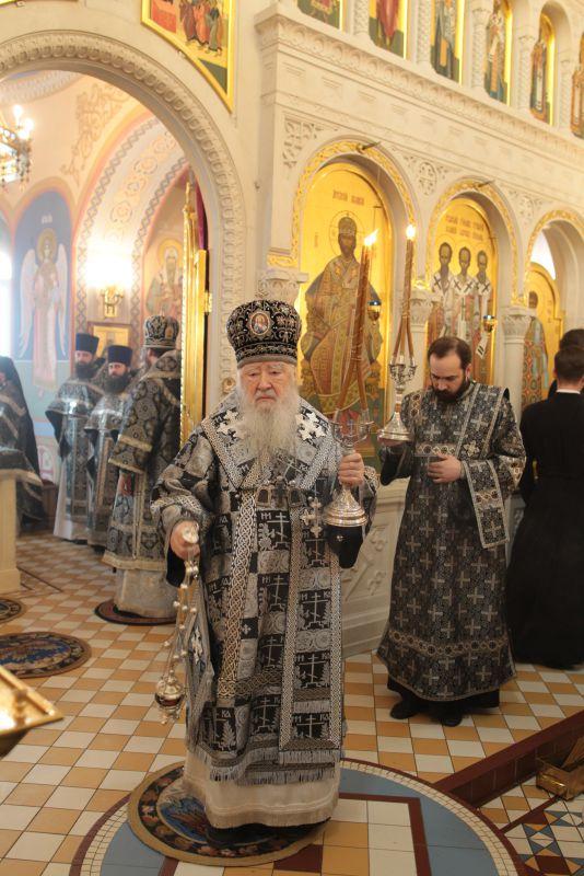 Архипастырское посещение Коломны митрополитом Крутицким и Коломенским