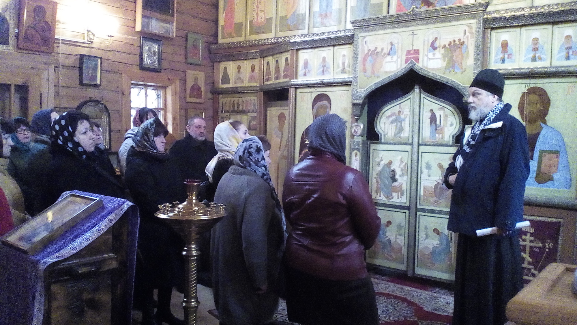 Паломническая поездка работников управления культуры Коломенского района на Бутовский полигон