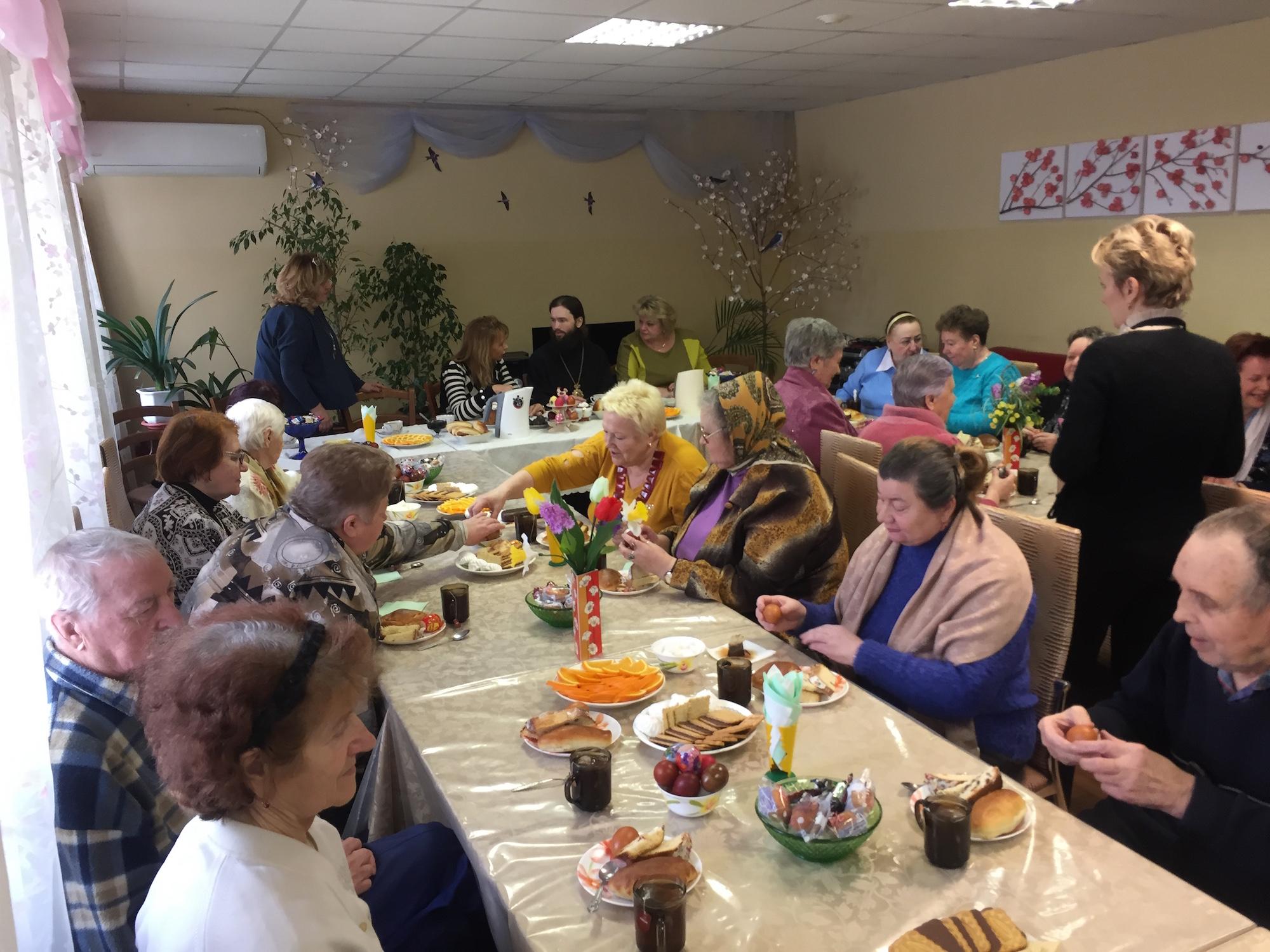 Посещение Коломенского центра социального обслуживания населения