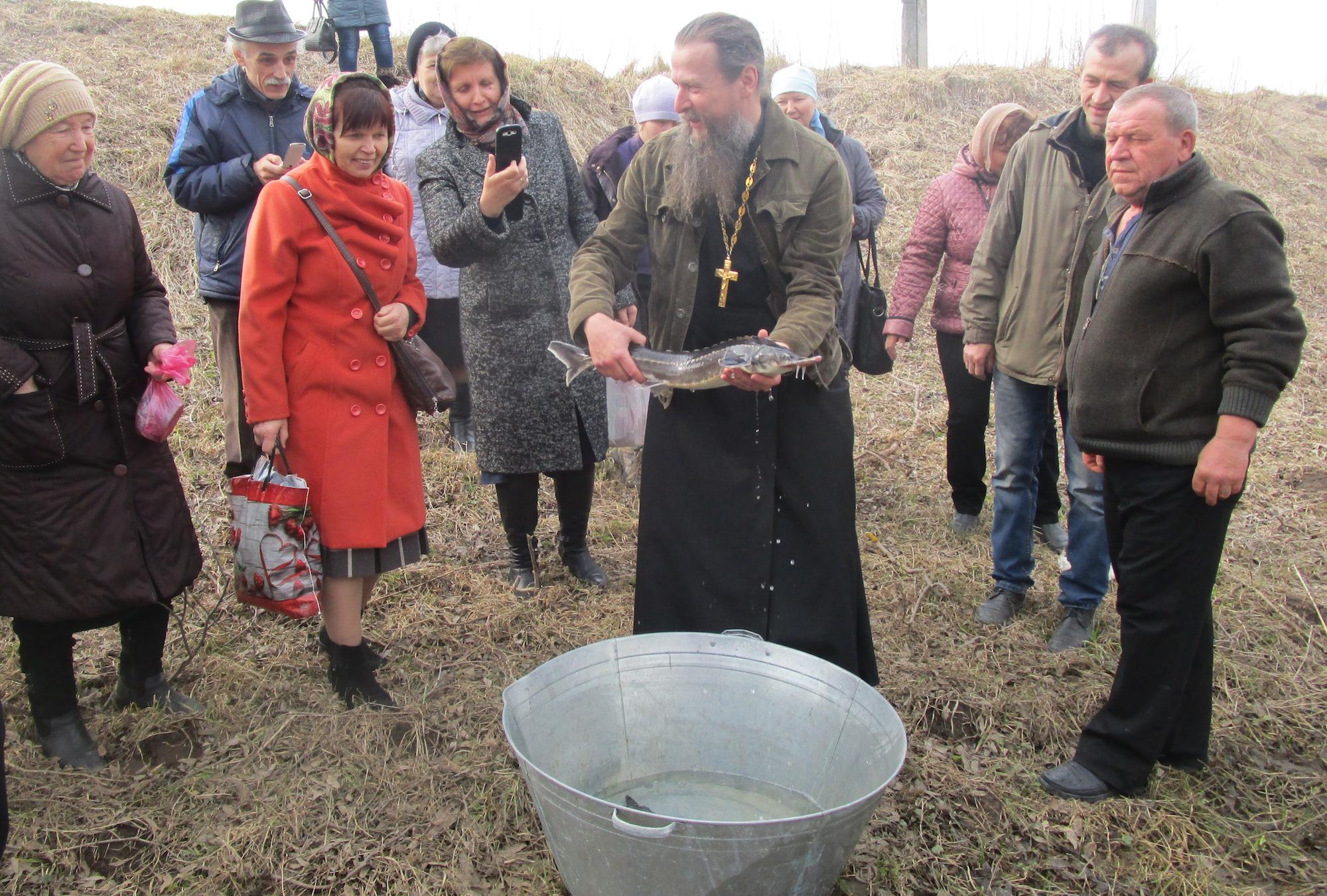 Экологическая акция на приходе Свято-Духовского храма села Шкинь