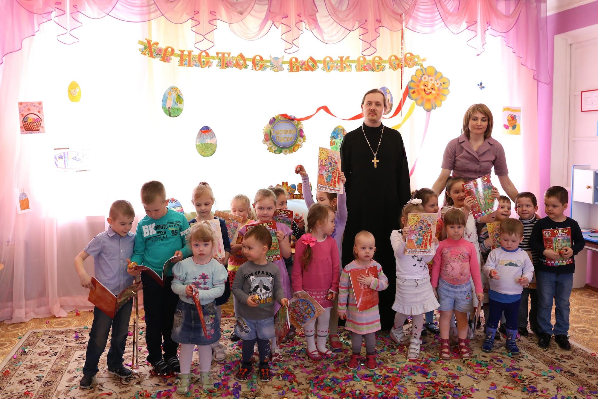 Пасхальные утренники в детских садах села Шеметово и поселка Возрождение
