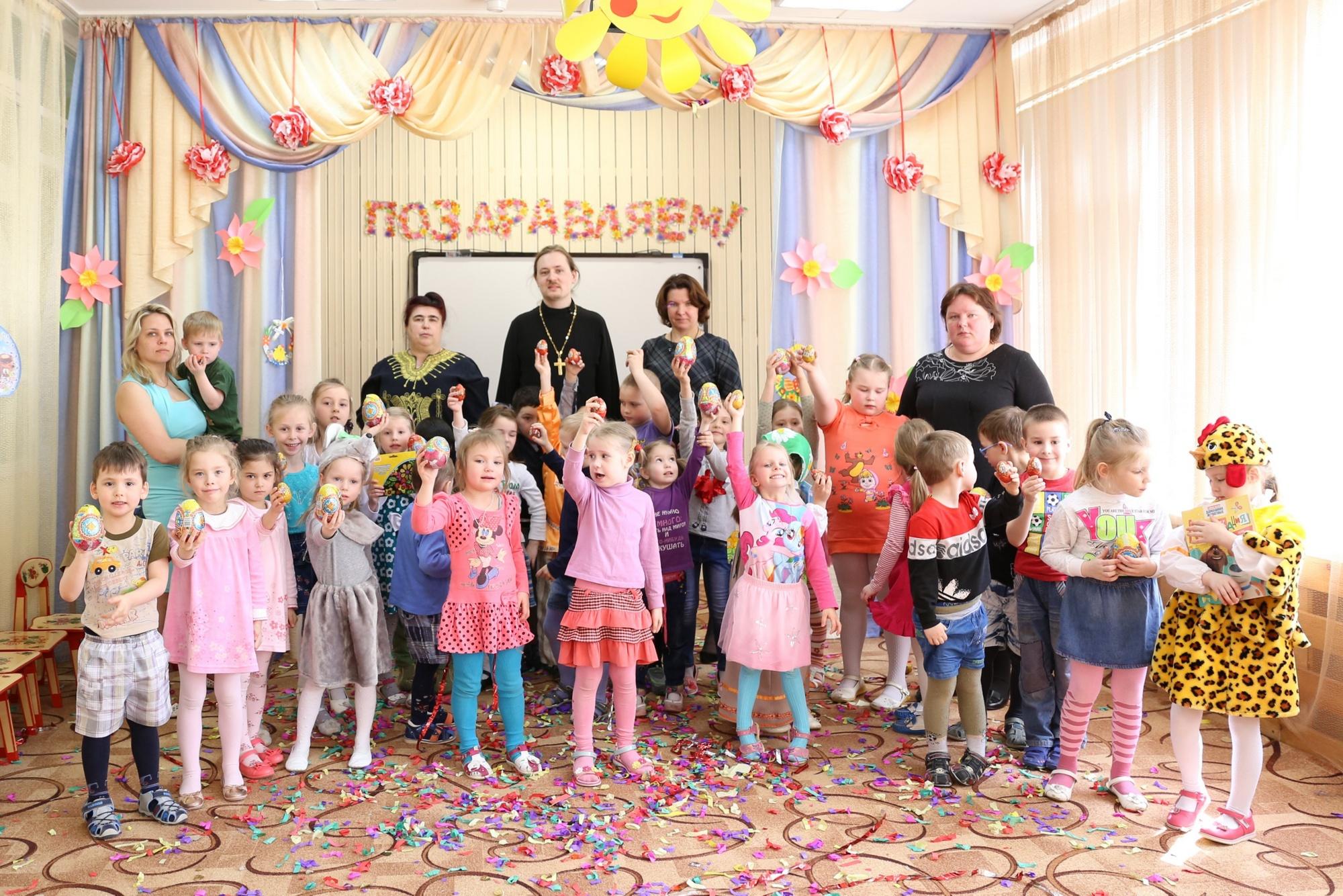 Пасхальный утренник в детском саду № 9 «Дружба» села Черкизово