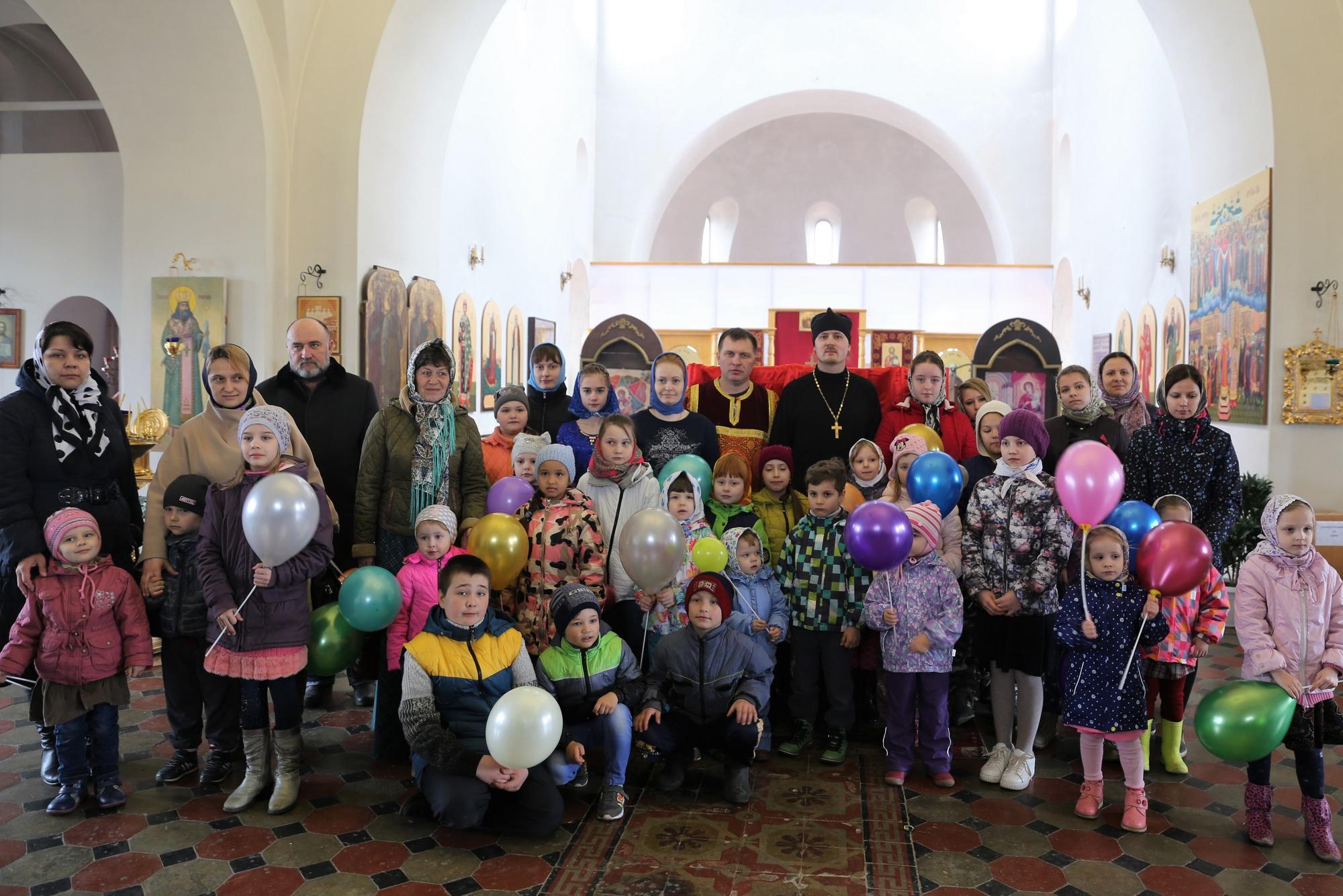 Пасхальный детский праздник в Покровском храме села Никульское