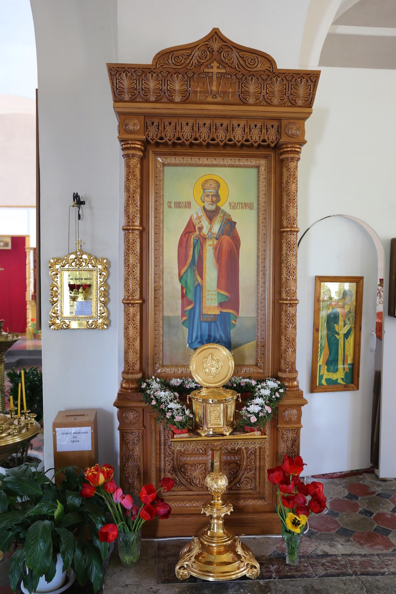 День памяти святителя Николая Чудотворца в Покровском храме села Никульское