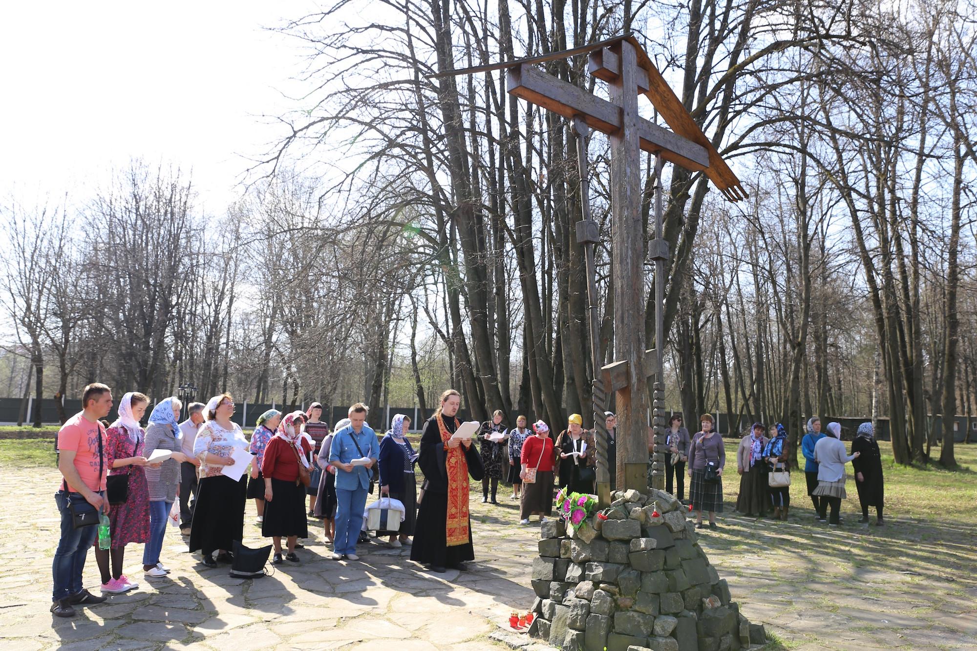 Паломничество прихожан Покровского храма села Никульское на Бутовский полигон