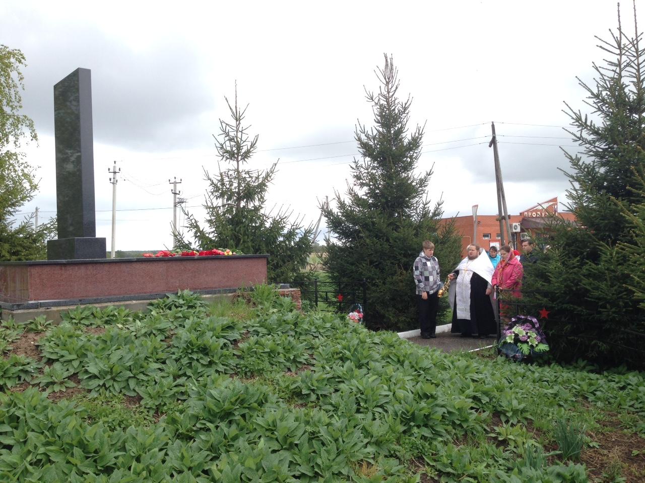 День Победы в селе Северское