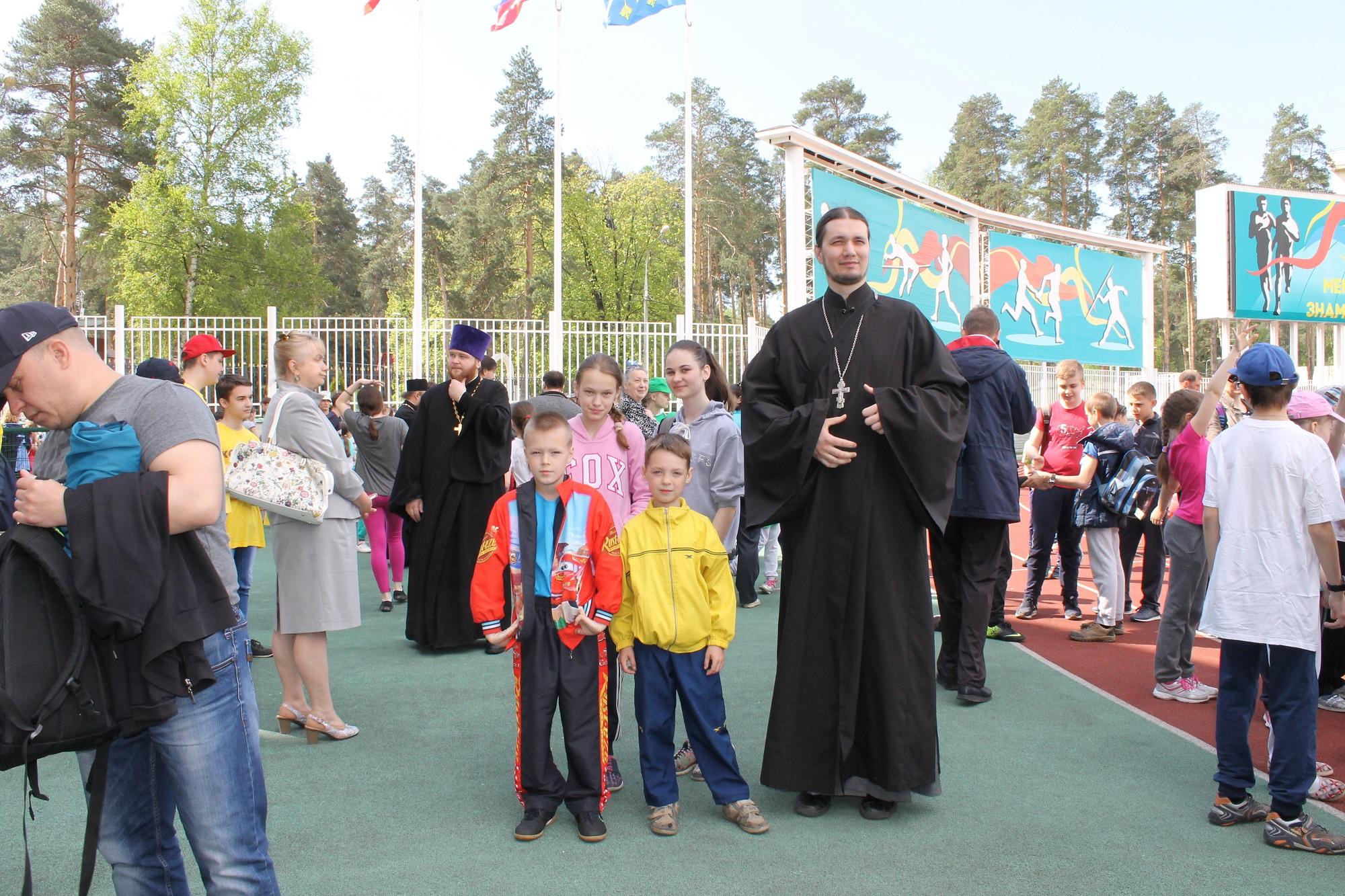 Посещение XVI Фестиваля физической и духовной культуры