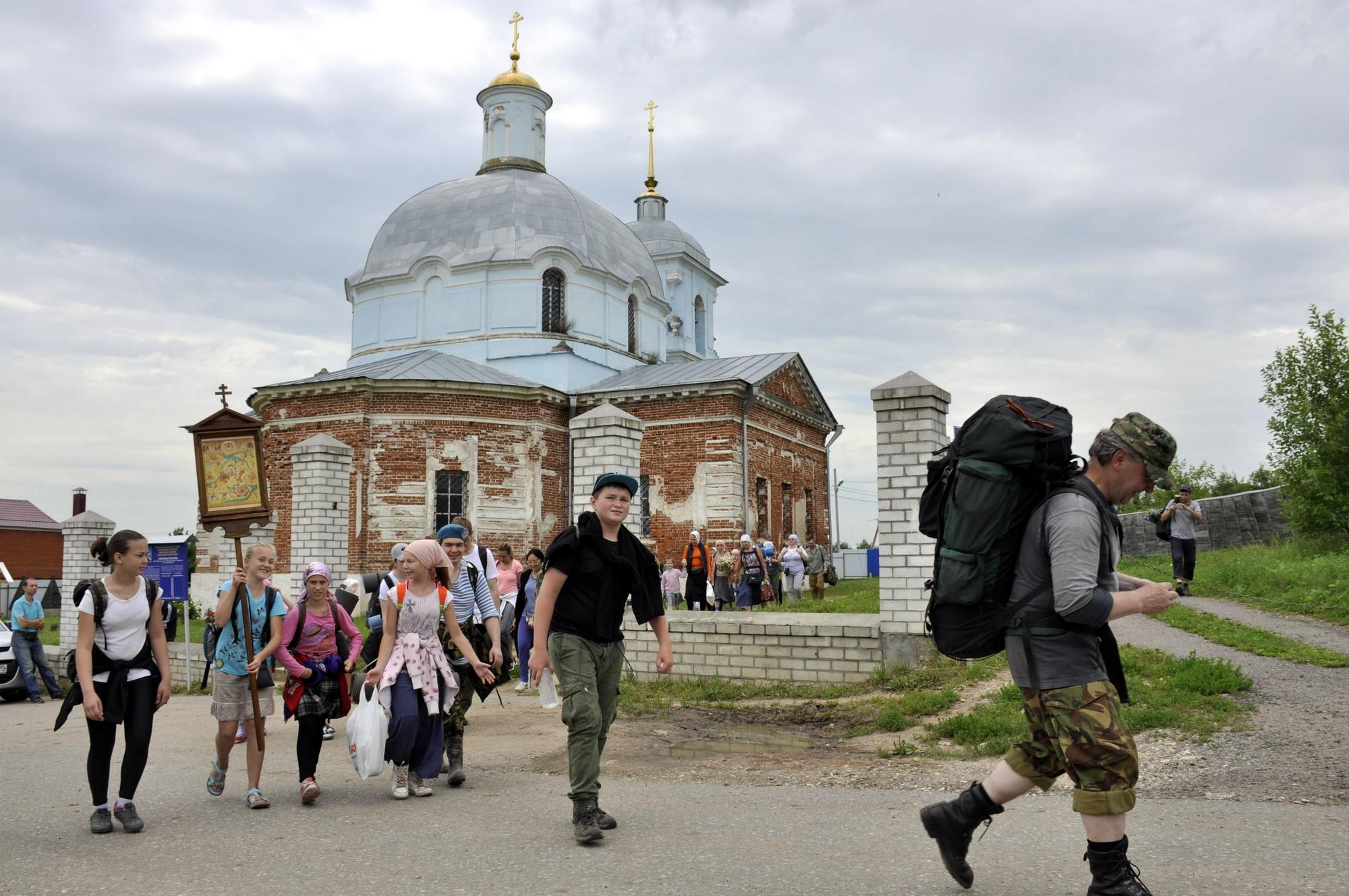 Православный поход посвященный новомученикам Коломенским