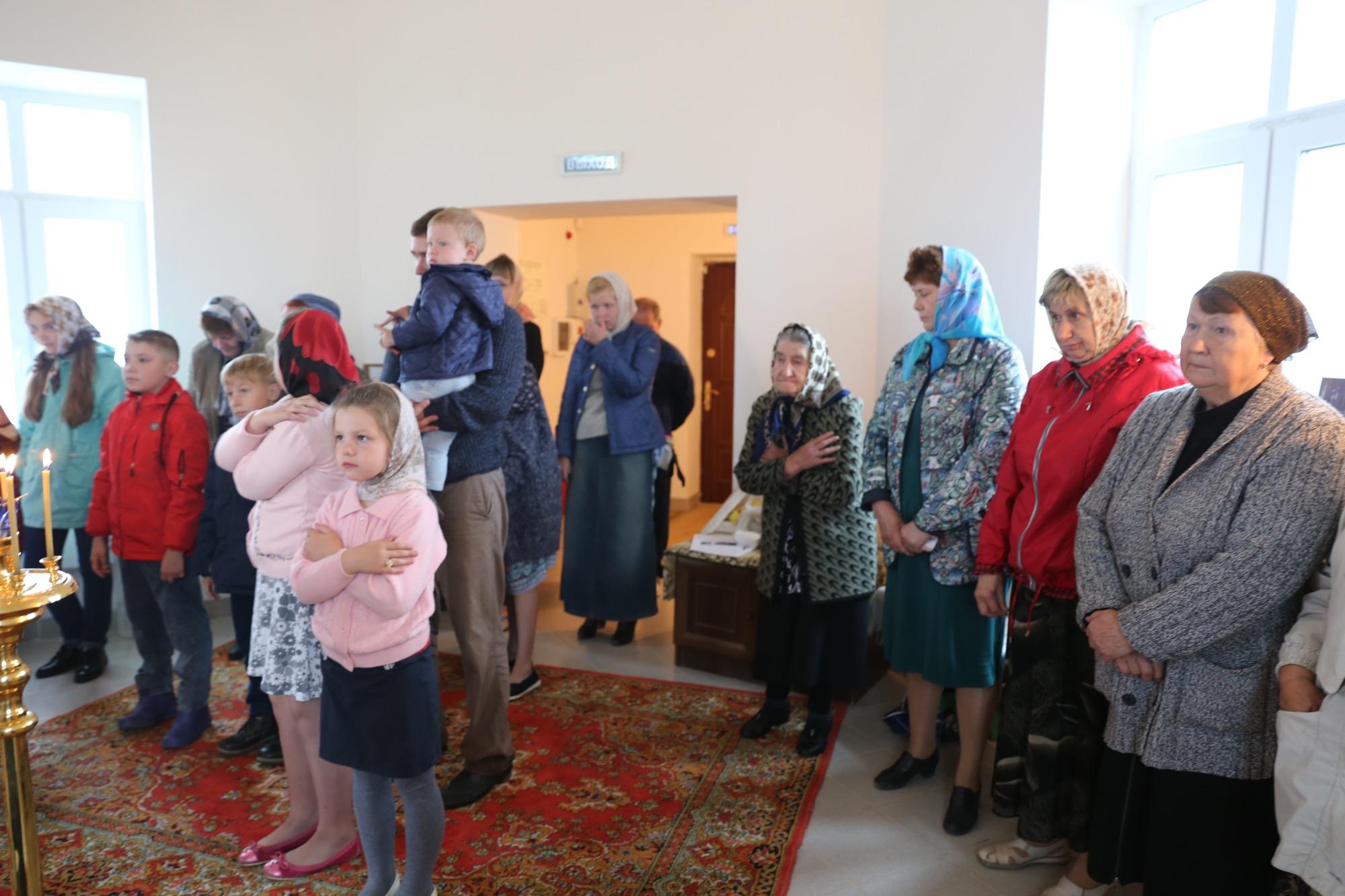 День семьи, любви и верности в деревне Молитвино