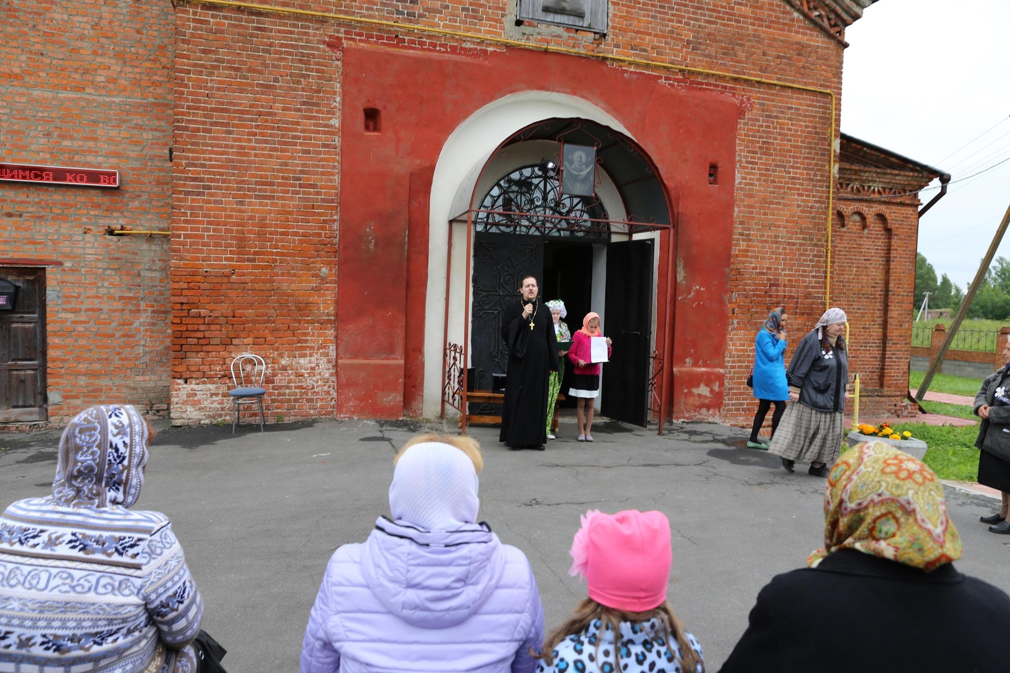 День семьи, любви и верности на приходе Покровского храма села Никульское