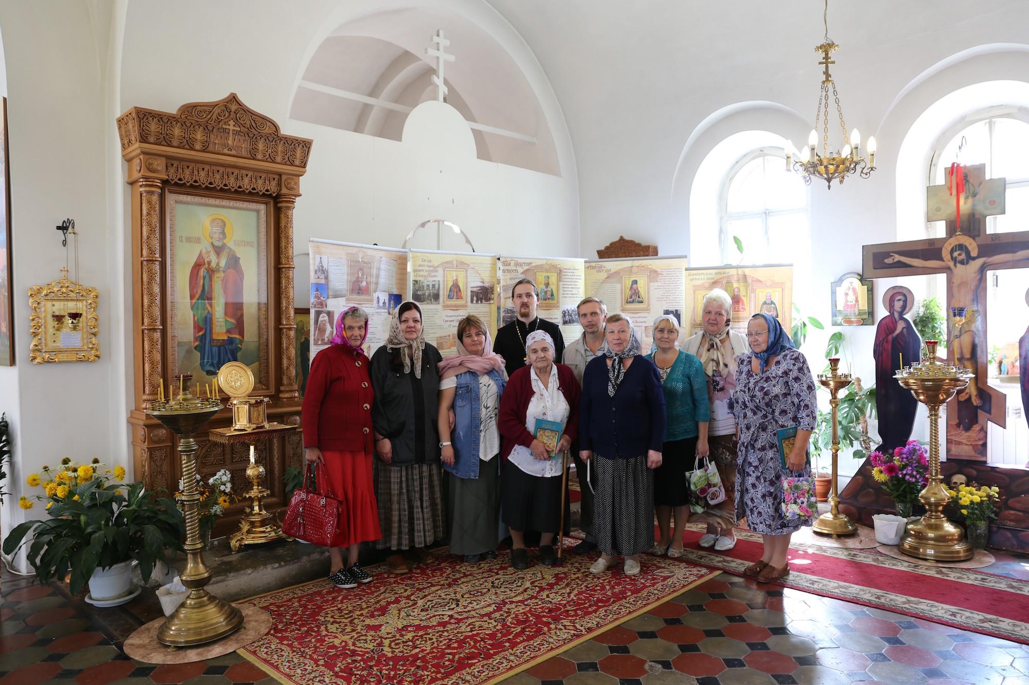 Выставка о новомучениках в Покровском храме села Никульское
