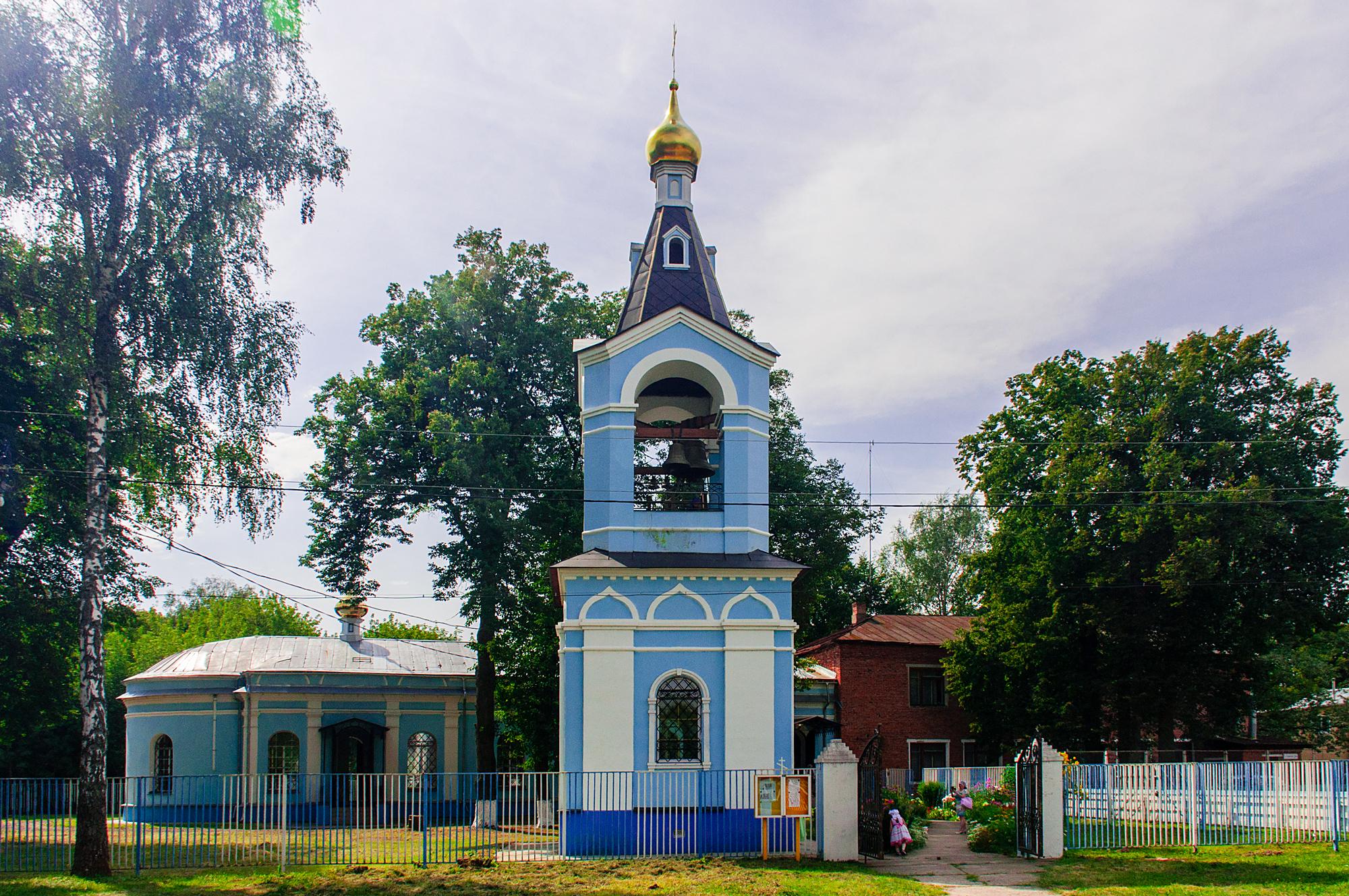 Великое освящение Казанского храма села Алпатьево