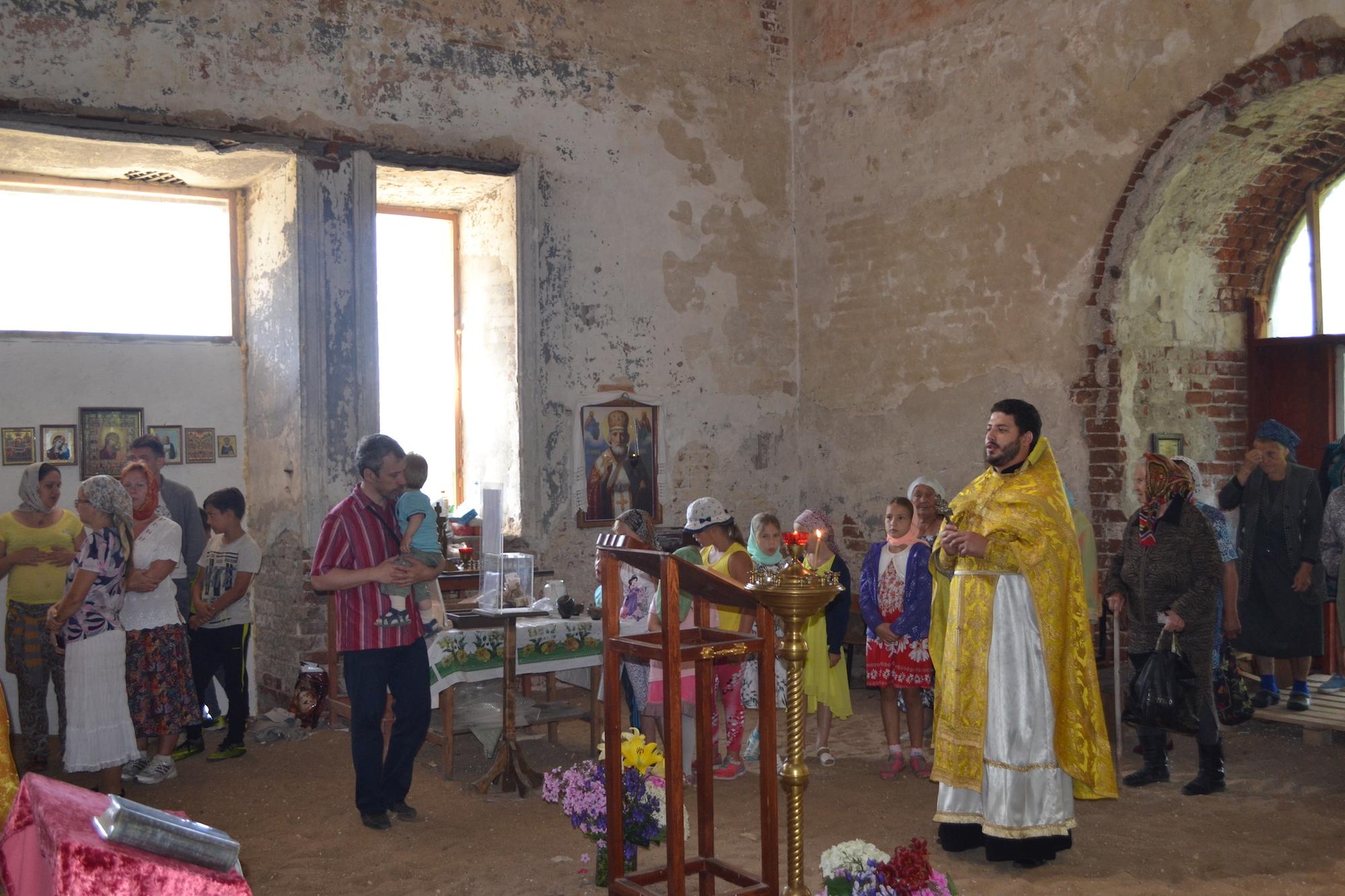 День мученика Иоанна Воина на приходе Никольского храма села Дарищи