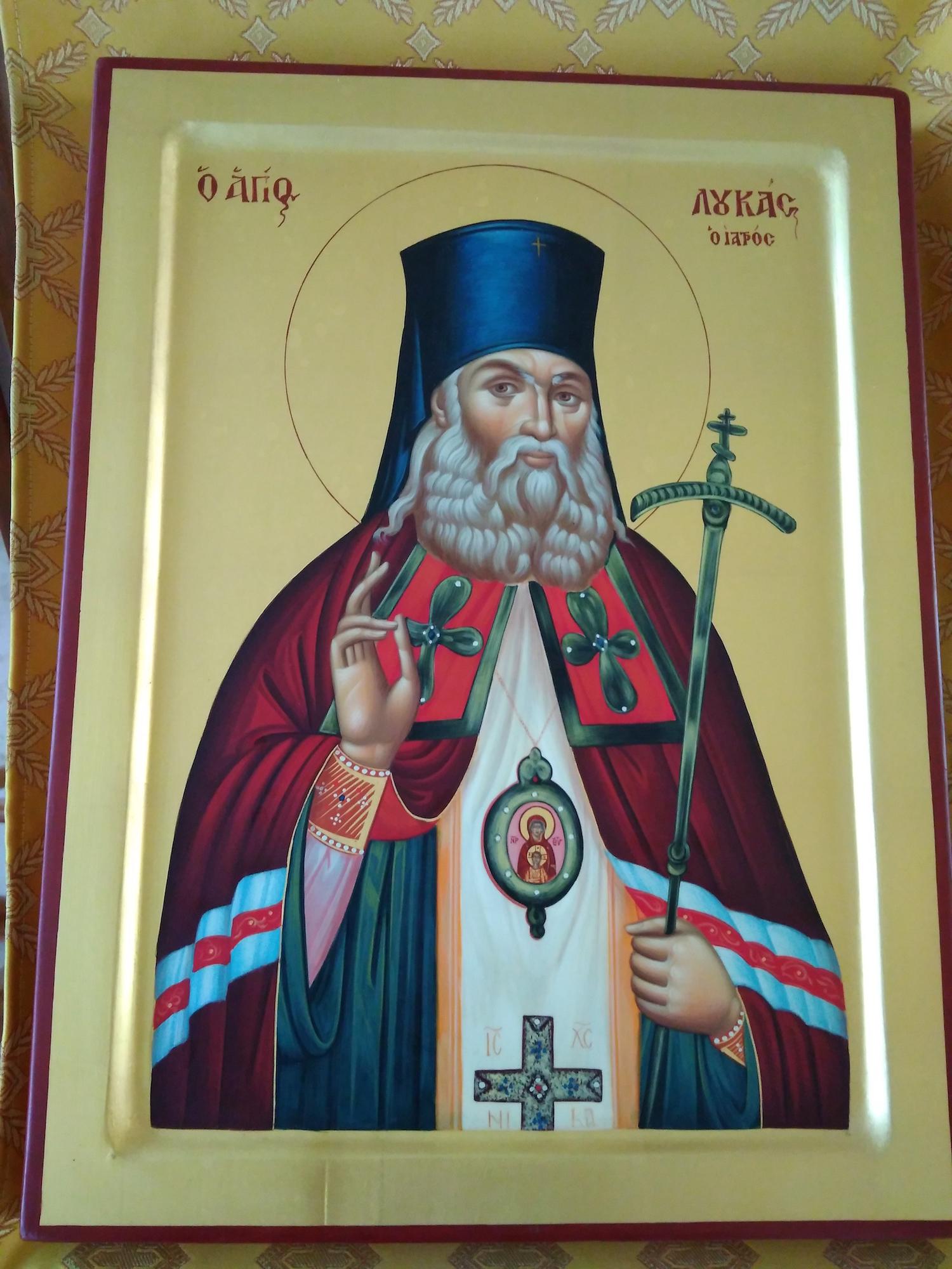 Афонская икона в Свято-Духовском храме села Шкинь