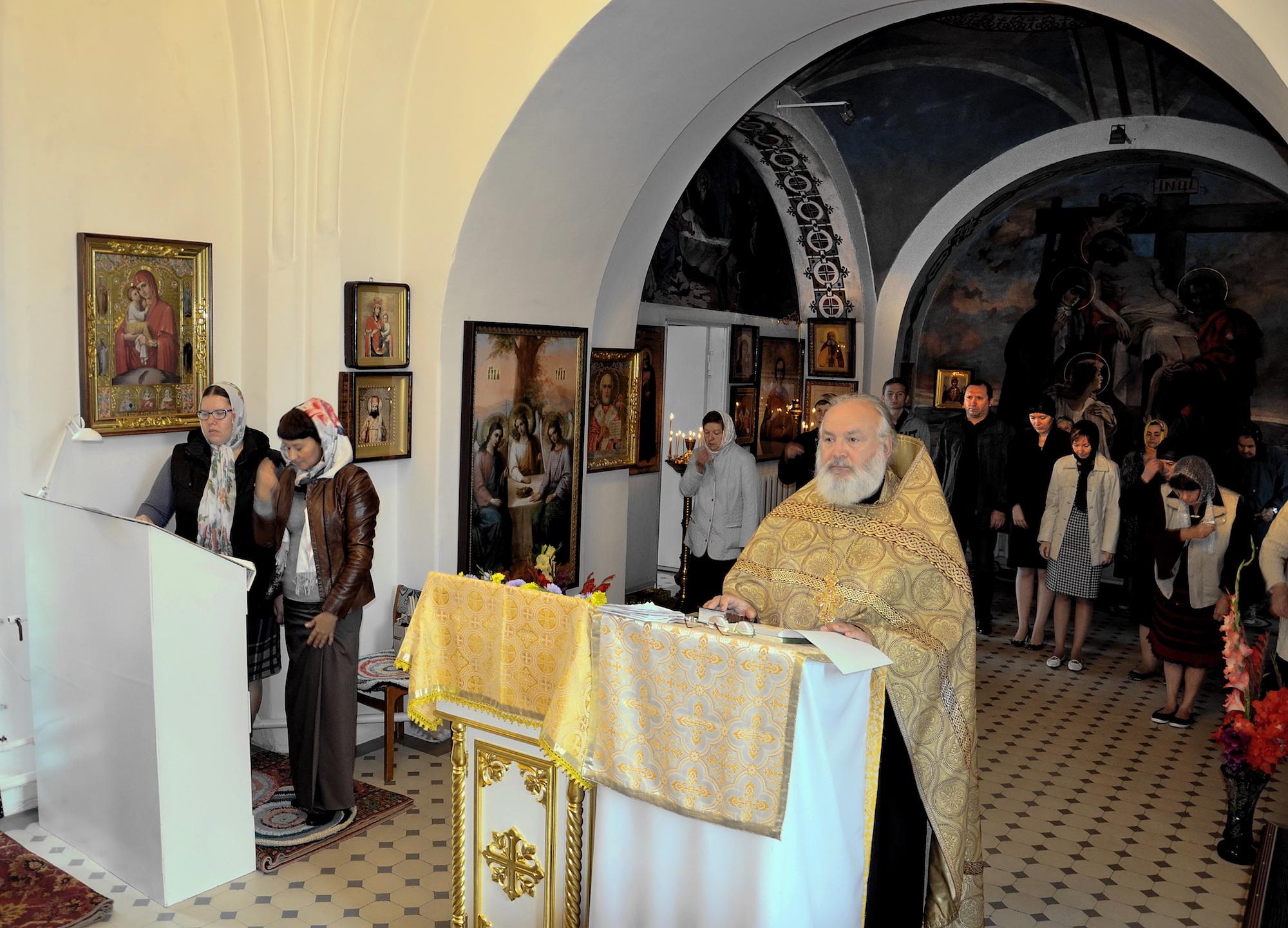 День трезвости на приходе Никольского храма села Горки