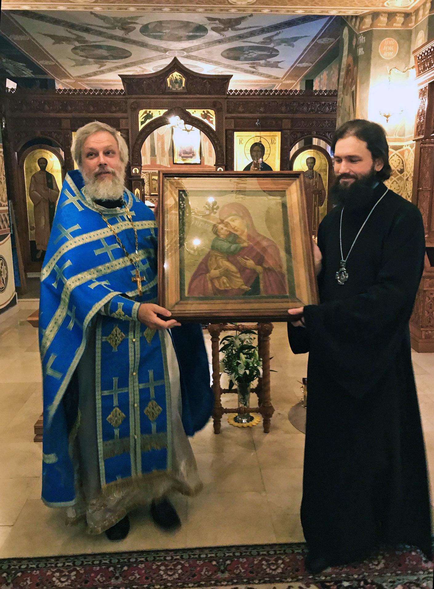Историческая икона вернулась в Бобренев монастырь
